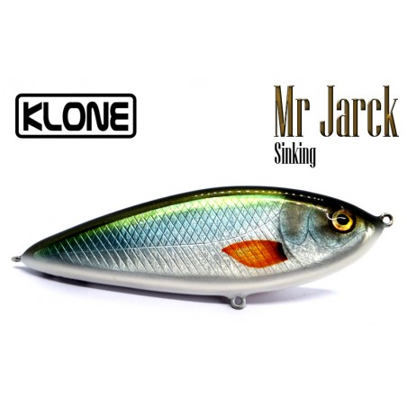 KLONE Mr Jarck 150 sinking handmade wood jerkbait with btungsten