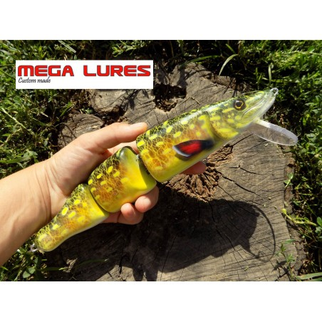 MEGALURES pike swimbait 3 segments 25cm